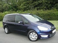 2015 FORD GALAXY 2.0 ZETEC TDCI 5d AUTO POWER SHIFT 138 BHP 7 SEATER £10995.00