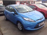 USED 2012 12 FORD FIESTA 1.4 EDGE TDCI 5d 69 BHP Diesel, 5 door, great economy, £20, road tax, superb.