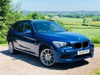 2014 BMW X1 2.0 XDRIVE18D M SPORT 5d 141 BHP £11485.00