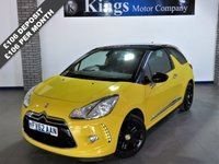 USED 2012 62 CITROEN DS3 1.6 E-HDI DSTYLE PLUS 3dr £0 Road Tax, Averages 76 MPG , Great Value, Lovely Example..