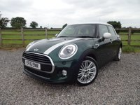 USED 2016 16 MINI HATCH COOPER 1.5 COOPER 5d AUTO 134 BHP CHILI PACK 1 OWNER + FULL MINI SERVICE HISTORY + CHILI PACK