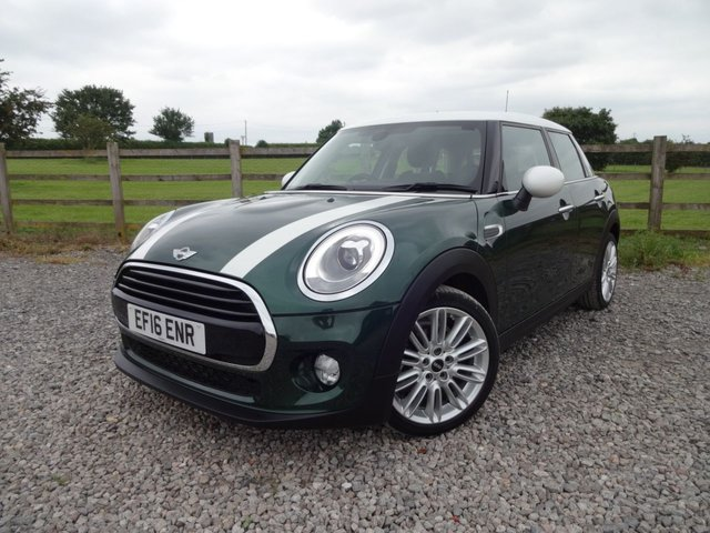 2016 16 MINI HATCH COOPER 1.5 COOPER 5d AUTO 134 BHP CHILI PACK