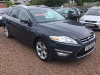 USED 2012 12 FORD MONDEO 2.0 TITANIUM TDCI 5d 138 BHP GREAT EXAMPLE