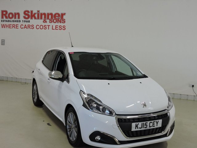 View our 2015 15 PEUGEOT 208 1.6 BLUE HDI S/S ALLURE 5d 100 BHP