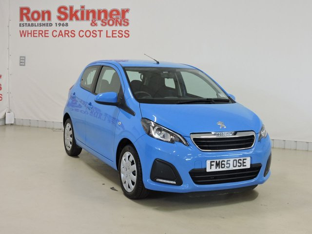 View our 2015 65 PEUGEOT 108 1.0 ACTIVE 5d 68 BHP