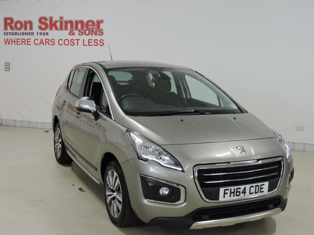 View our 2015 64 PEUGEOT 3008 1.6 HDI ACTIVE 5d 115 BHP