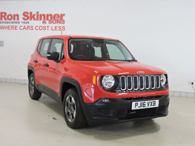 View our 2016 16 JEEP RENEGADE 1.6 SPORT 5d 108 BHP