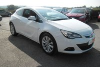 2015 VAUXHALL ASTRA 1.4 GTC SRI 3d AUTO 138 BHP £8000.00