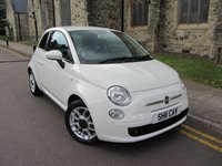USED 2011 11 FIAT 500 1.2 S 3d 69 BHP ++ ONLY 43000 MILES ++