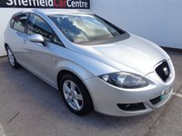 2008 SEAT LEON 2.0 REFERENCE SPORT TDI 5d 138 BHP  NO PART EXCHANGE TAKEN IN AGAINST THIS CAR £1675.00
