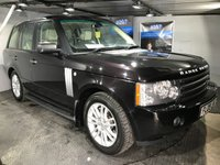 USED 2009 09 LAND ROVER RANGE ROVER 3.6 TDV8 VOGUE 5d AUTO 272 BHP Bluetooth : Satellite Navigation : Full leather upholstery : Electric front seats : Heated front & rear seats : Electric/Heated steering wheel   :   Heated front screen   :   Harman/Kardon sound system : LandRover All Terrain system         :         Reversing camera plus front and rear sensors      : Last serviced in Sep 2017 at 77,481 miles