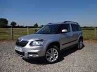 USED 2016 16 SKODA YETI 2.0 OUTDOOR SE L TDI SCR 5d 148 BHP SKODA WARRANTY REMAINING UNTIL MAY 2019