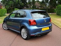 USED 2016 66 VOLKSWAGEN POLO 1.4 TSI BlueMotion Tech ACT BlueGT DSG (s/s) 5dr LOW MILES+1OWNER+FULL HISTORY+