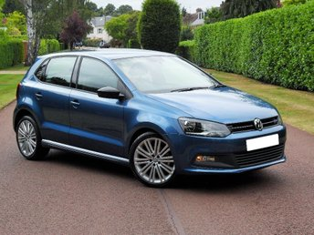 2016 VOLKSWAGEN POLO 1.4 TSI BlueMotion Tech ACT BlueGT DSG (s/s) 5dr £14595.00