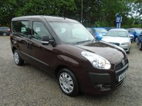 2012 FIAT DOBLO 1.4 16v MyLife 5dr (7 Seats) £5995.00