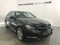 2013 MERCEDES-BENZ C CLASS 2.1 C250 CDI BLUEEFFICIENCY AMG SPORT 4d 202 BHP £11495.00