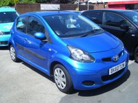 USED 2010 60 TOYOTA AYGO 1.0 BLUE VVT-I 5d 67 BHP **ZERO DEPOSIT FINANCE AVAILABLE** PART EXCHANGE WELCOME                                                                                                                   Available from £81 per month!