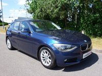 2012 BMW 1 SERIES 2.0 116D SE 5d AUTO 114 BHP £8690.00