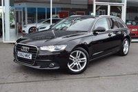 2013 AUDI A6 3.0 AVANT TDI SE 5d 204 BHP £13890.00