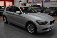 2014 BMW 1 SERIES 1.6 116D EFFICIENTDYNAMICS 5d 114 BHP £8385.00