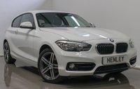 2015 BMW 1 SERIES 2.0 118D SPORT 3d 147 BHP £12990.00