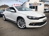 "USED 2011 61 VOLKSWAGEN SCIROCCO 2.0 GT TDI BLUEMOTION TECHNOLOGY 2d 140 BHP 1 Owner, Low Miles, Full History, 18"" Alloys, Bluetooth"