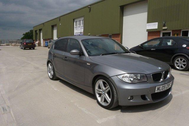 2009 09 BMW 1 SERIES 2.0 116I M SPORT 5d 121 BHP
