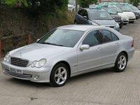 2005 MERCEDES-BENZ C CLASS 2.1 C200 CDI AVANTGARDE SE 4d 121 BHP £2495.00