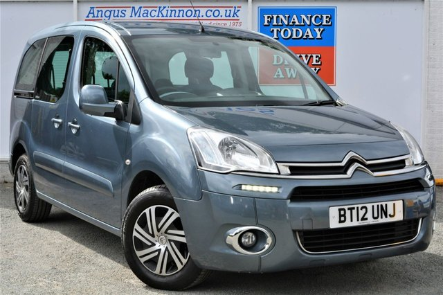 2012 12 CITROEN BERLINGO 1.6 DIESEL MULTISPACE AIRDREAM 5d AUTO Family MPV with 59mpg