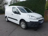 USED 2015 15 CITROEN BERLINGO 625 ENTERPRISE L1 1.6 HDI 75 BHP High Specification Model With Air Con E/Windows  And Dual Passenger Seat, Very Clean Low Mileage Example!