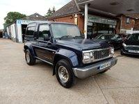 2000 DAIHATSU FOURTRAK 2.8 TDX INDEPENDENT 3d 97 BHP £1990.00