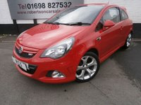 USED 2013 13 VAUXHALL CORSA 1.6 VXR 3dr SMALL HOT HATCH