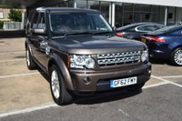 2012 LAND ROVER DISCOVERY 3.0 4 SDV6 XS 5d AUTO 255 BHP £21495.00