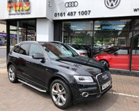 USED 2012 62 AUDI Q5 TDI QUATTRO S LINE PLUS 1 of a kind car with a bucket full of extras. a real must see.
