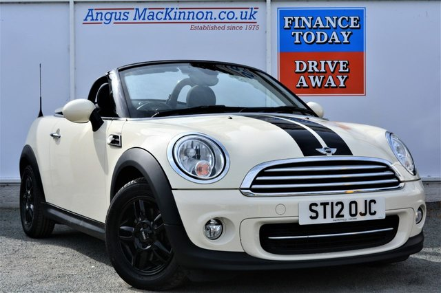 2012 12 MINI ROADSTER 1.6 COOPER 2d Convertible Roadster Absolutely Stunning Condition