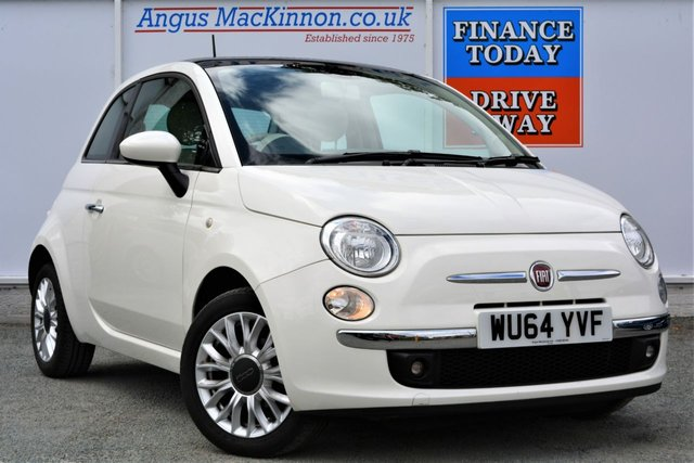 2015 64 FIAT 500 1.2 LOUNGE 3d Hatch with Low Running Costs Low Road Tax and High 59mpg