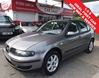 USED 2003 03 SEAT LEON 1.4 S 5d 74 BHP *NEW MOT JUST ISSUED*