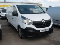 2015 RENAULT TRAFIC 1.6 LL29 BUSINESS DCI S/R P/V 1d 115 BHP LONG WHEELBASE SERVICE HISTORY £8995.00