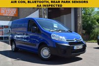 USED 2014 14 CITROEN DISPATCH 1.6 1000 L1H1 ENTERPRISE HDI 1d 89 BHP A low mileage 2014 Citroen Dispatch L1 H1 Enterprise 1.6hdi with twin side doors, ply lining, bluetooth, rear park sensors and air con.