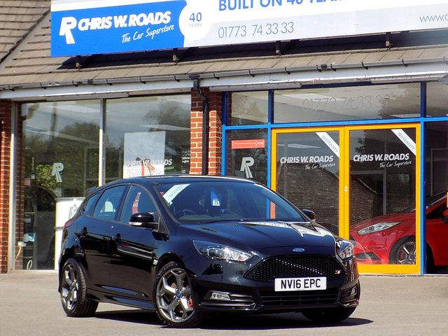 USED 2016 16 FORD FOCUS 2.0 ST-3 TDCI 5dr (185) * Only 16k + Ford Service History *