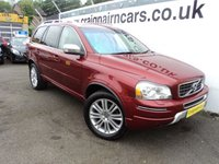 USED 2013 13 VOLVO XC90 2.4 D5 EXECUTIVE AWD 5d AUTO 200 BHP Two Owners Full Service History+Massive Spec Car