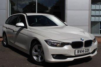 2014 BMW 3 SERIES 2.0 320D EFFICIENTDYNAMICS TOURING 5d 161 BHP £8989.00