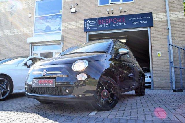 2012 62 FIAT 500 1.2 STREET 3 DOOR