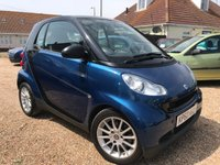 2010 SMART FORTWO 1.0 PASSION MHD 2d AUTO 71 BHP £4695.00