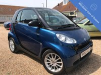USED 2010 60 SMART FORTWO 1.0 PASSION MHD 2d AUTO 71 BHP Leather, Sat NAv, FSH, heated seats, Pano Roof