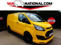 2014 FORD TRANSIT CUSTOM 2.2 330 LR P/V 125 BHP (AIR CON, TAILGATE, BODYKIT, UPGRADED PAYLOAD) £13990.00
