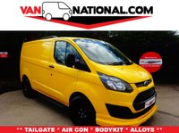 2014 FORD TRANSIT CUSTOM 2.2 330 LR P/V 125 BHP (AIR CON, TAILGATE, BODYKIT, UPGRADED PAYLOAD) £13495.00