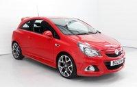 2012 VAUXHALL CORSA 1.6 VXR 3d 189 BHP