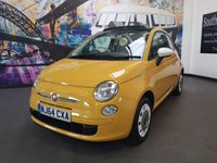 2014 FIAT 500 1.2 C COLOUR THERAPY 3d 69 BHP £6494.00