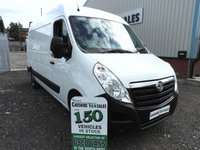 2015 VAUXHALL MOVANO 2.3 F3500 L2H2 P/V CDTI 1 OWNER FROM NEW FSH  £7395.00